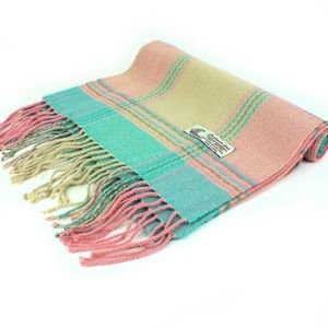 🍭Cashmere Feel Scarf- Pink Multi